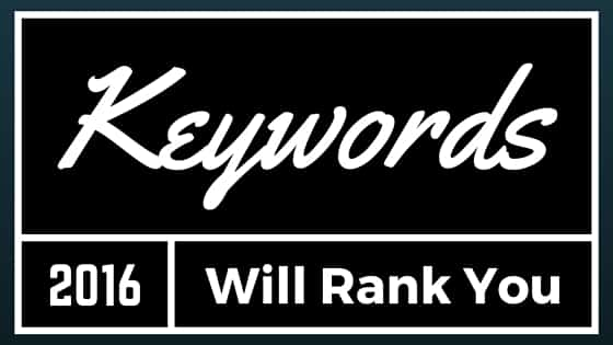 keywords will rank you higher