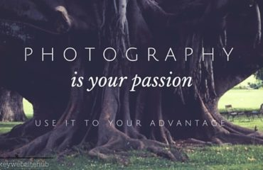 photography is your passion