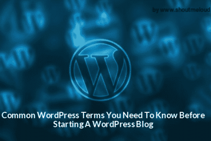 Common WordPress Terms You Need To Know