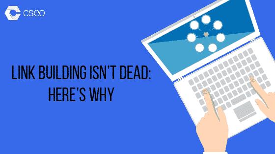 Link Building Isn't Dead
