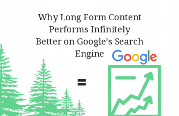 Why Long Form Content Performs Infinitely Better on Googles search engine