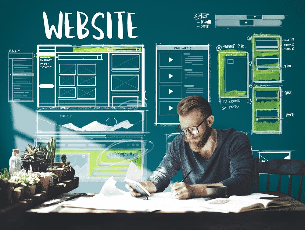 high end web design