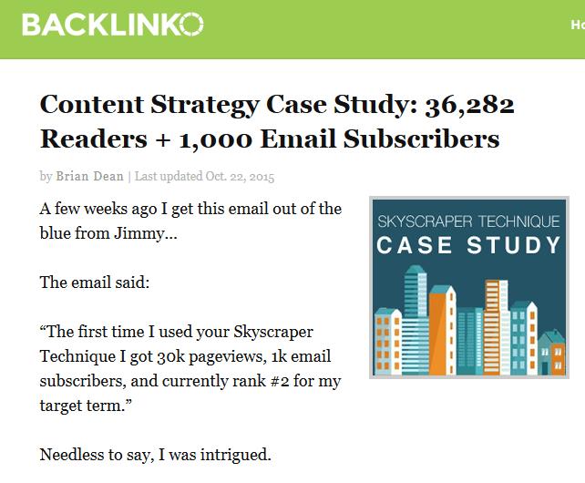 older case study