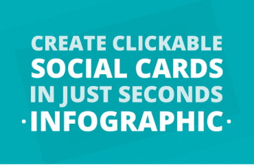 clickable social cards