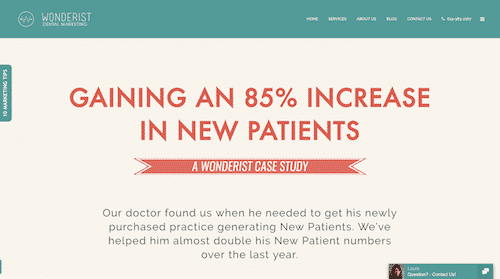 This Wonderist case study is a great example of evergreen content.