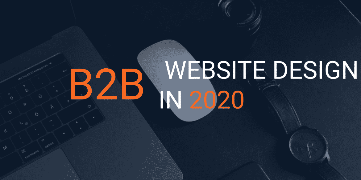 b2b web design in 2020