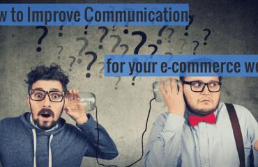 Communication for your E-commerce Website