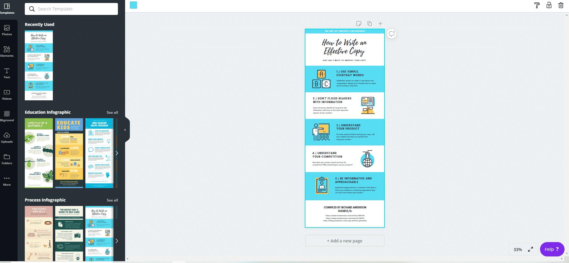 infographic maker