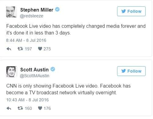facebook video streaming