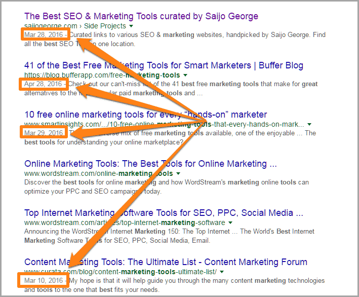 Update older content for SEO on your blog