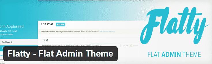 flatty admin theme
