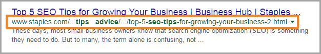 use short URL for SEO 2 on your blog